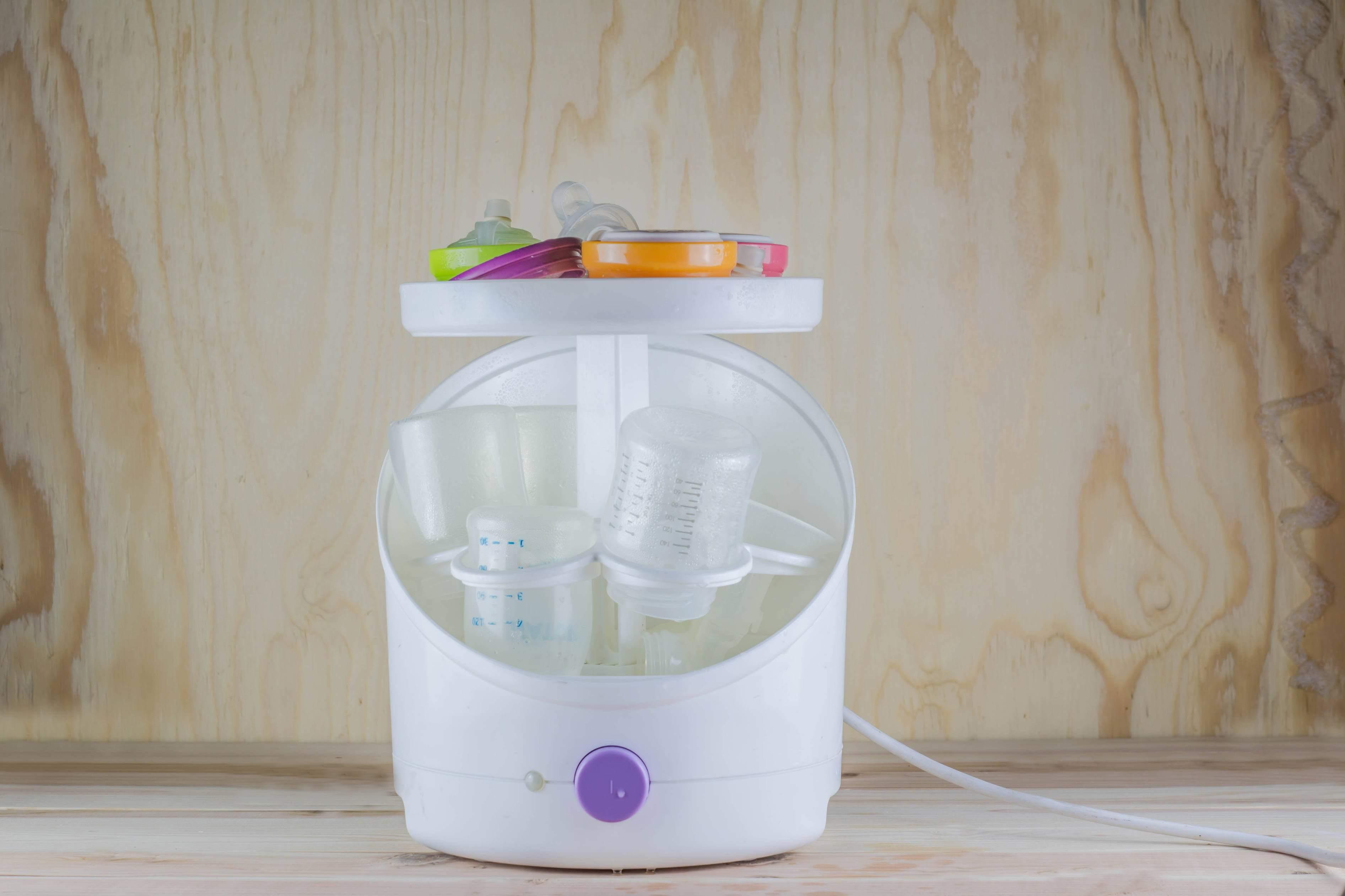 Baby bottle sterilisation secondary